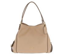 Tote Polished Pebble Leather Edie 31 Shoulder Bag Beige beige