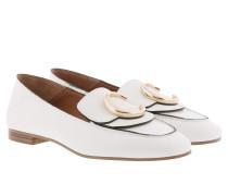 Ballerinas Loafer Shiny Calfskin Natural White