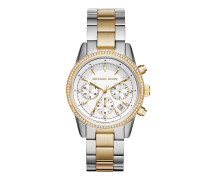MK6474 Ritz Watch Silver/Gold Uhr gold