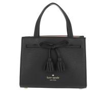 Mini Isobel Tassel Crossbody Bag Black Tasche