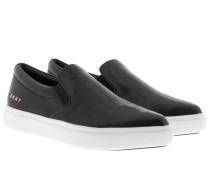 Trey Pointy Slip On Black Schuhe