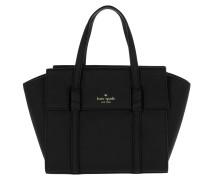 Small Abigail Satchel Bag Black