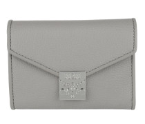 Patricia Park Avenue Flap Wallet Tri-Fold Small Arch Grey