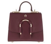 Jade Crossbody Bag Burgundy Tasche