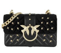 Mini Love Metal Birds Crossbody Bag Nero Limousine Tasche