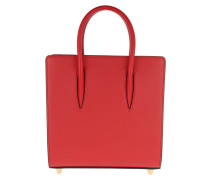 Paloma Small Tote Leather Red Tote