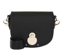 Umhängetasche Cavalcade Crossbody Bag Leather Black schwarz