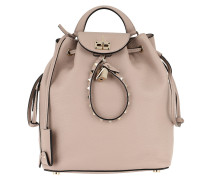Twiny Backpack Calf Leather Poudre Rucksack