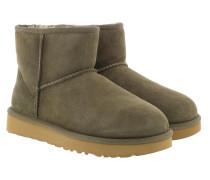 Boots W Classic Mini II Eucalytpus grün