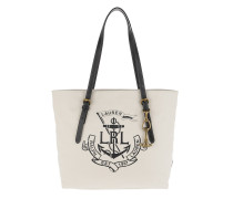 Seabrook Tote Canvas Natural/Black Shopper