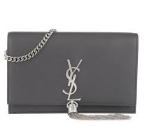 Monogram Chain Wallet Asphalt Umhängetasche