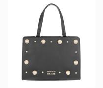 Umhängetasche Logo Studded Shoulder Bag Black schwarz