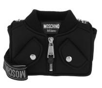 Biker Shoulder Bag Black Tasche