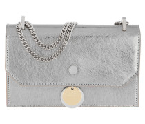 Finley Mini Bag Metallic Leather Vintage Silver Tasche