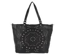 Shopping Bag Studs + Laser Serenoa Nero