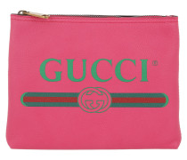 Gucci Print Leather Wallet Small
