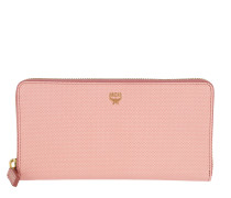 Otti Charm Zippered Wallet Large Pink
