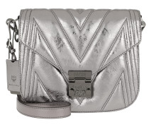 Umhängetasche Patricia Quilted Shoulder Bag Small Berlin Silver silber