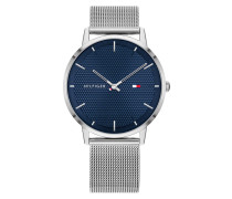 Uhr Quartz Watch Men James 1791663 Silver