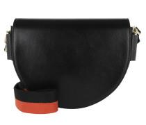 Mixedbag Saddle Bag Black Satchel Bag