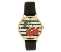 Metro Cherry Watch Black Armbanduhr schwarz