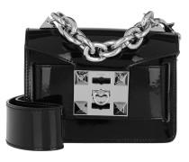 Gaia Gloss Crossbody Bag Black Tasche