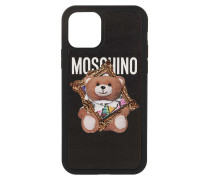 Smartphone Case Bear iPhone 11 Pro Fantasy Print Black
