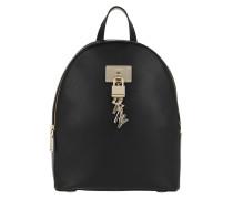 Rucksack Elissa MD Backpack Black/Gold schwarz