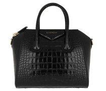 Tote Antigona Small Leather Black schwarz