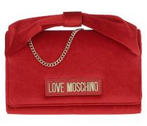 Umhängetasche Velvet Crossbody Bag Rosso rot