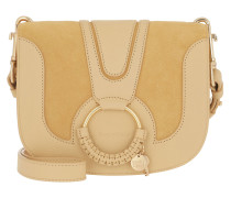 Umhängetasche Hana Shoulder Bag Grainy Leather Straw Beige gelb