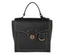 Top Handle Satchel Small Black Satchel Bag