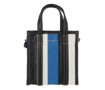 Bazar Mini Shopper Arena Leather Blue/Black Tasche