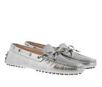 Classic Metallic Loafers Cenere Schuhe