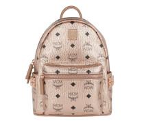 Rucksack Stark Backpack Mini Champagne Gold rosa