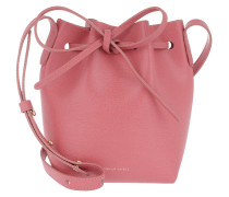 Mini Mini Bucket Bag Saffiano Leather Blush Beuteltasche