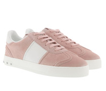 Fly Crew Sneakers Suede Water Rose/Bianco