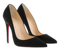 So Kate Pumps 120 Suede Black Pumps