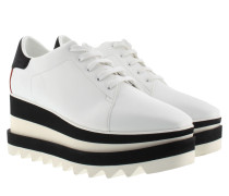 Elyse Platform Sneakers White/Black Sneakers