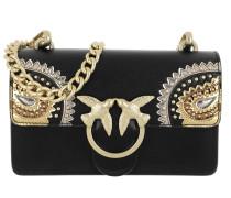 Mini Love Paislay Crossbody Bag Nero Limousine Tasche