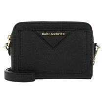 Klassik Camera Bag Black Umhängetasche