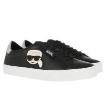 Sneakers SKOOL Karl Plexikonic Lo Lace Black Leather schwarz