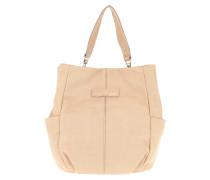 CrystalO8 Vintage Shoulder Bag Light Powder Hobo