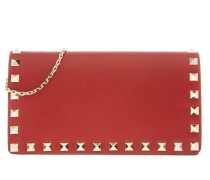 Umhängetasche Rockstud Crossbody Bag Red rot
