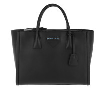 Concept Handle Bag Tote Leather Black Tote
