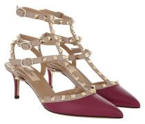 Rockstud Decollete Pump Ankle Strap Camelia Pumps
