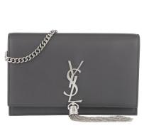 Monogram Chain Wallet Asphalt Tasche