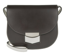 Small Trotteur Bicolour Crossbody Anthracite / Pale Grey Tasche