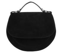 Satchel Bag Sirio Suede Mini Bag Noir schwarz