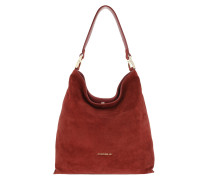 Arlettis Suede Hobo Bag Bourgogne Hobo Bag